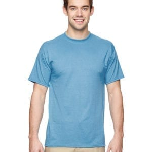 Jerzees 21M Athletic Dry-fit Shirt Light Blue