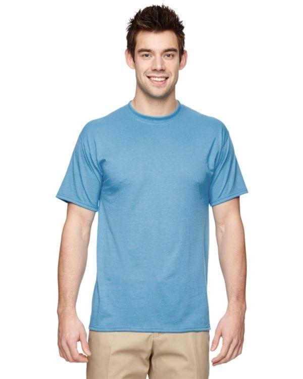Jerzees 21M Athletic Dry-fit Shirt Light Blue