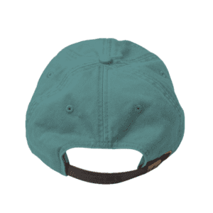 custom hats adams ad969 optimum pigment dyed cap caribbean blue back