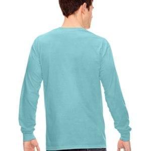 5bf0f06d Comfort Colors C6014 heavyweight custom long sleeve shirt - bulk custom  shirts chalky mint