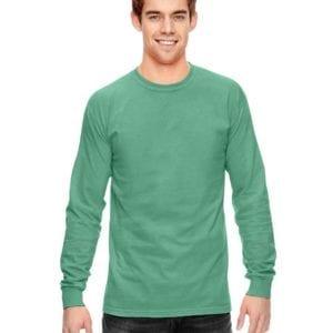 58c9b1fe Comfort Colors C6014 heavyweight custom long sleeve shirt - bulk custom  shirts island green
