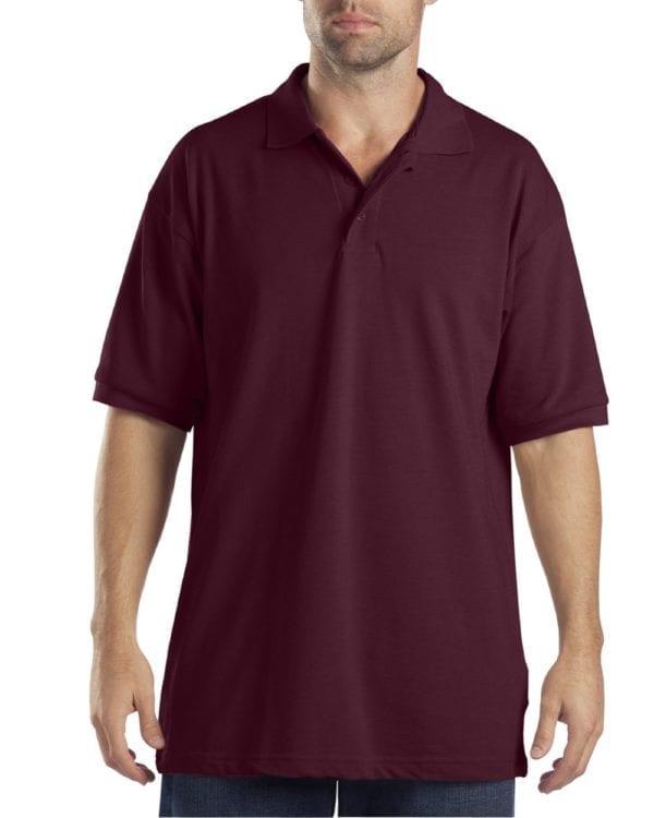 Dickies KS5552 Performance Custom Polo - Bulk Custom Shirts Burgundy