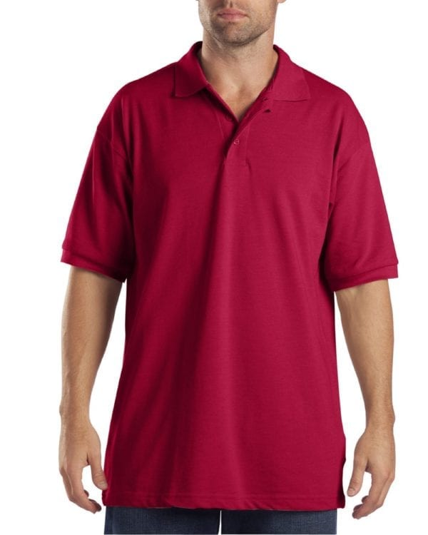 Dickies KS5552 Performance Custom Polo - Bulk Custom Shirts english red