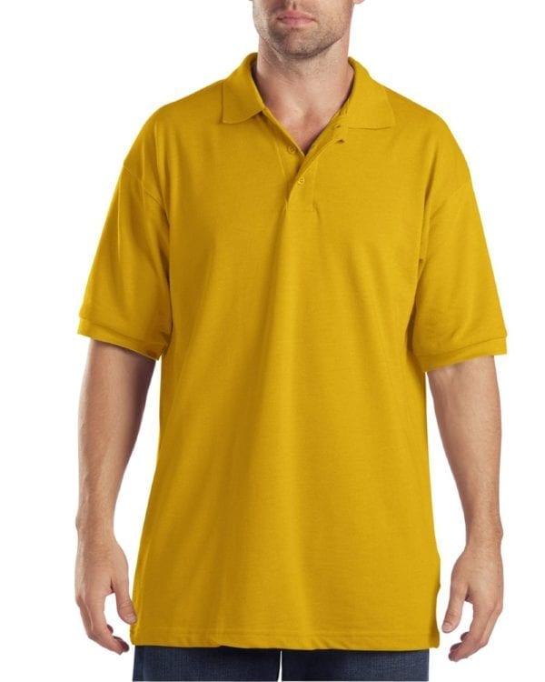 Dickies KS5552 Performance Custom Polo - Bulk Custom Shirts gold
