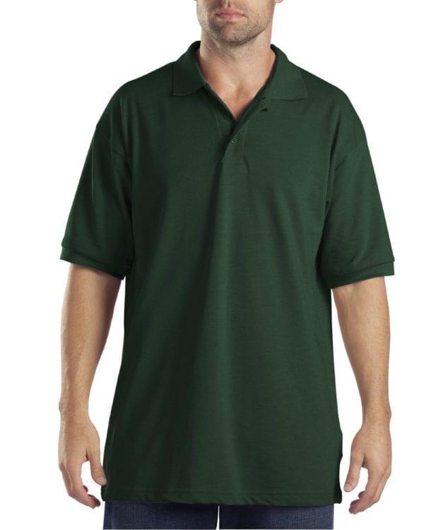 Dickies KS5552 Performance Custom Polo - Bulk Custom Shirts hunter green