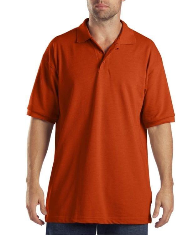 Dickies KS5552 Performance Custom Polo - Bulk Custom Shirts orange