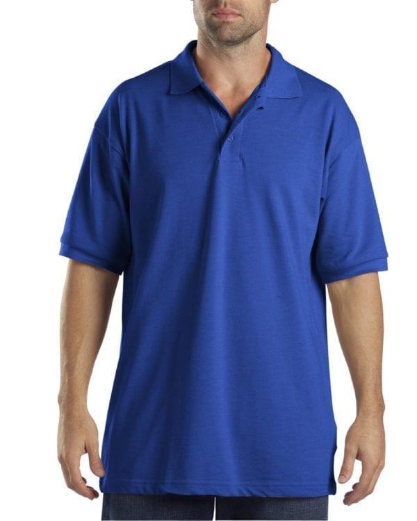 Dickies KS5552 Performance Custom Polo - Bulk Custom Shirts royal blue
