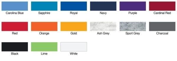 gildan g220 ultra cotton tank top colors