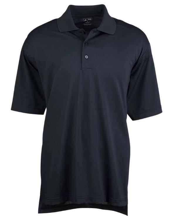 adidas a121 custom golf shirt climalite pique custom polo black