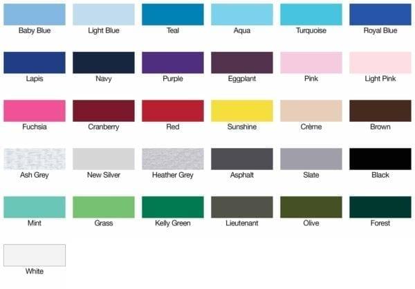 american apparel 2102W color swatch