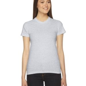 american apparel 2102w custom ladies shirt bulk custom shirts ash grey