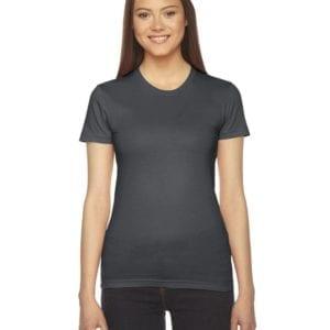 american apparel 2102w custom ladies shirt bulk custom shirts asphalt