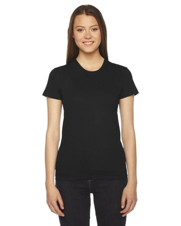 american apparel 2102w custom ladies shirt bulk custom shirts black
