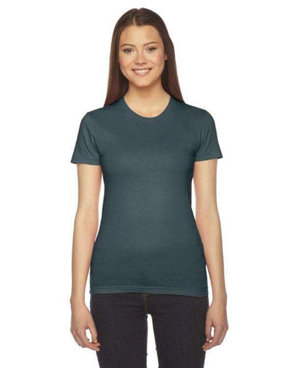 american apparel 2102w custom ladies shirt bulk custom shirts forest