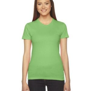 american apparel 2102w custom ladies shirt bulk custom shirts grass