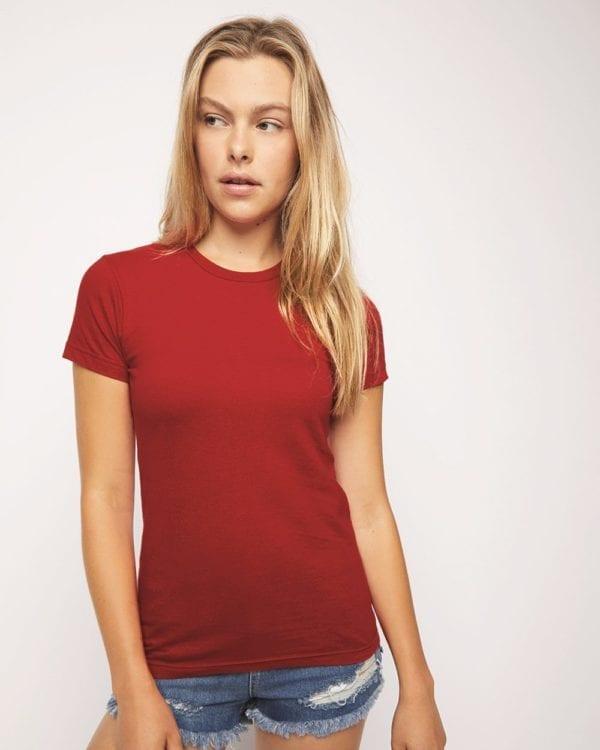 american apparel 2102w custom shirts womens fine jerset t-shirt bulk custom shirts