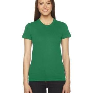 american apparel 2102w ladies shirt kelly green