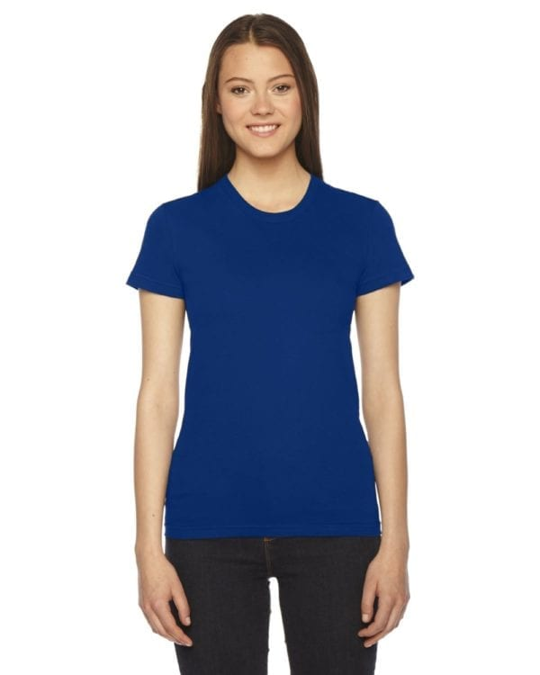 american apparel 2102w custom ladies shirt lapis from bulk custom shirts