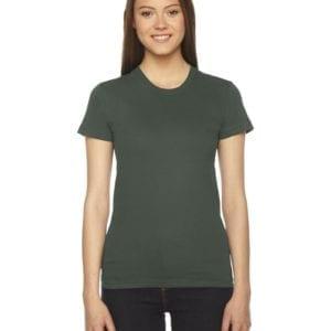 bulk custom shirts - american apparel 2102w custom ladies shirt lieutenant