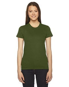 bulk custom shirts - american apparel 2102w custom ladies shirt olive