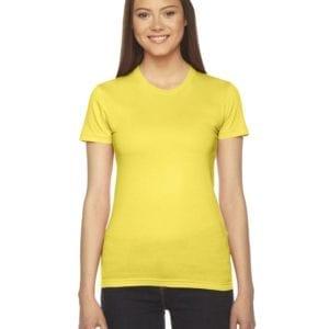 bulk custom shirts - american apparel 2102w custom ladies shirt sunshine