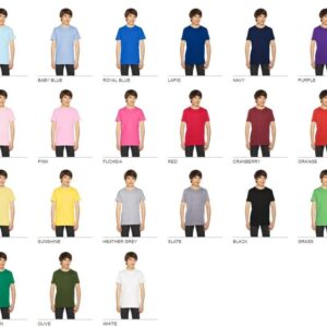 american apparel 2201w youth custom shirt bulk custom shirts