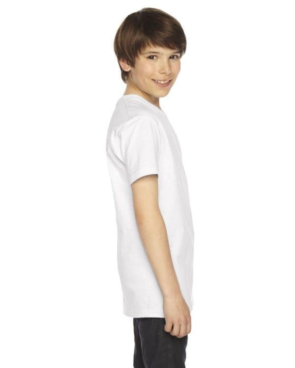 american apparel 2201w white side