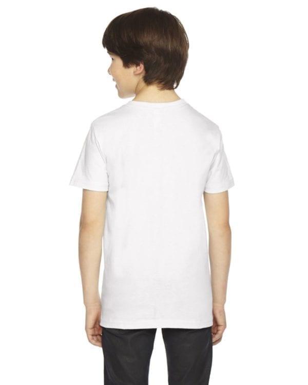 american apparel 2201w white back