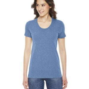 american apparel tr301w custom ladies triblend track tshirt bulk custom shirts athletic blue