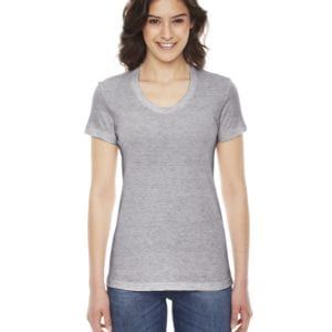 american apparel tr301w custom ladies triblend track tshirt bulk custom shirts athletic grey