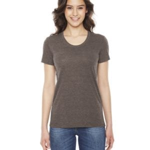 american apparel tr301w custom ladies triblend track tshirt bulk custom shirts tri coffee