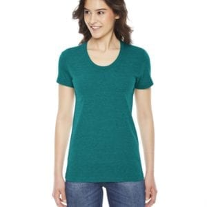 american apparel tr301w custom ladies triblend track tshirt bulk custom shirts tri evergreen