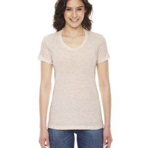 american apparel tr301w custom ladies triblend track tshirt bulk custom shirts tri oatmeal