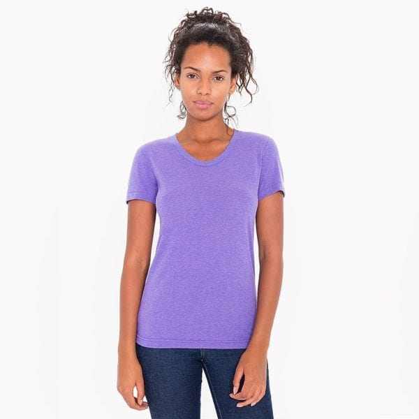 american apparel tr301w custom ladies triblend track tshirt bulk custom shirts