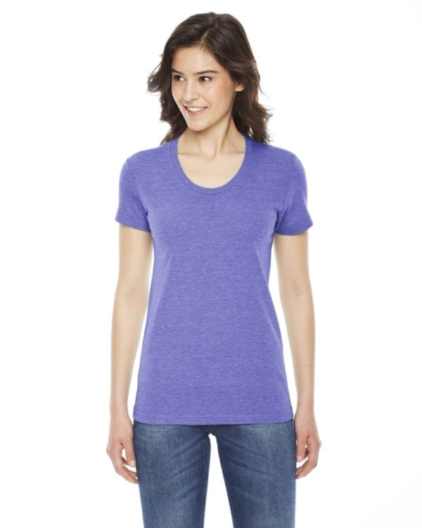 american apparel tr301w custom ladies triblend track tshirt bulk custom shirts tri orchid