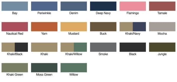 authentic pigment 1910 color swatches