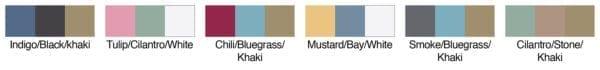 authentic pigment AP1919 color swatches
