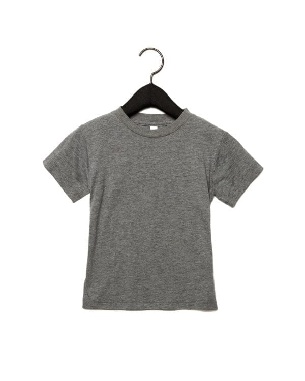 bella canvas 3413t custom toddler triblend shirt bulk custom shirts grey triblend