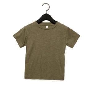 bella canvas 3413t custom toddler triblend shirt bulk custom shirts olive triblend