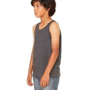 bella canvas 3480y personalize youth jersey tank top bulk custom shirts side
