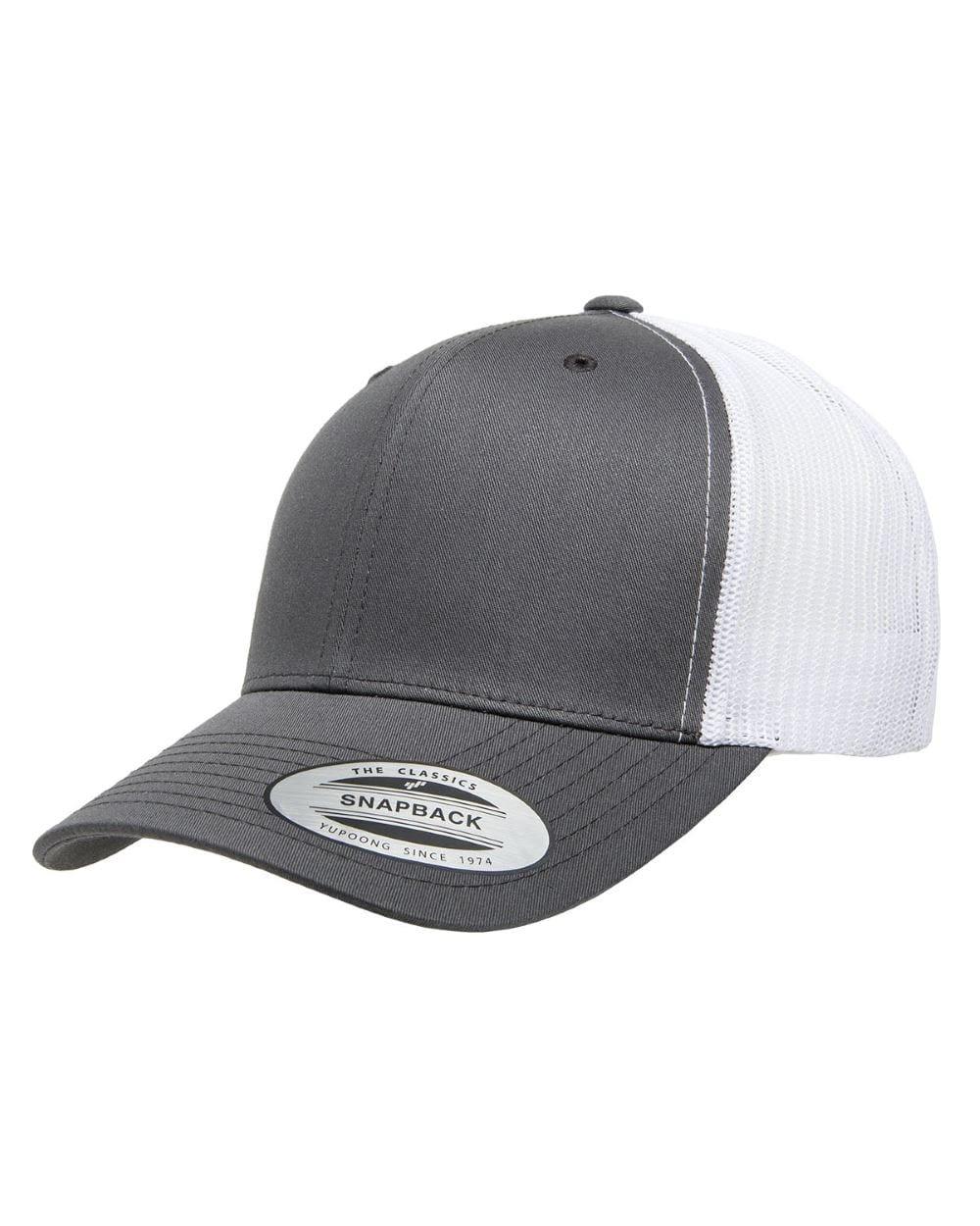 006ac142d Yupoong 6606 Retro Trucker Snapback Cap - Bulk Custom Shirts