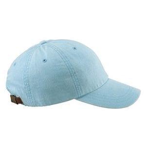 bulk custom shirt custom hats ad969 adams optimum baby blue