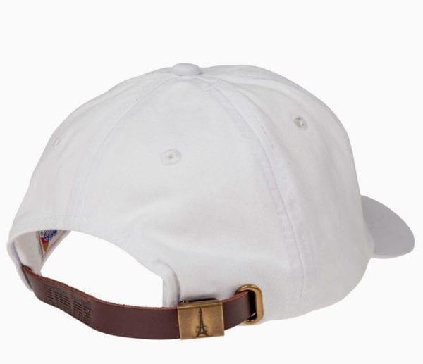 bulk custom shirt custom hats ad969 white back