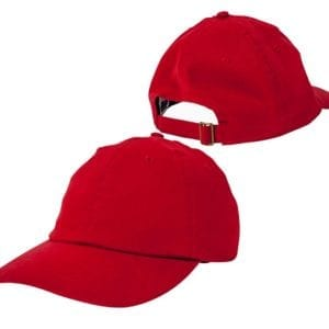 bulk custom shirt custom hats bx001 big accessories twill unstructured 6 panel red front back