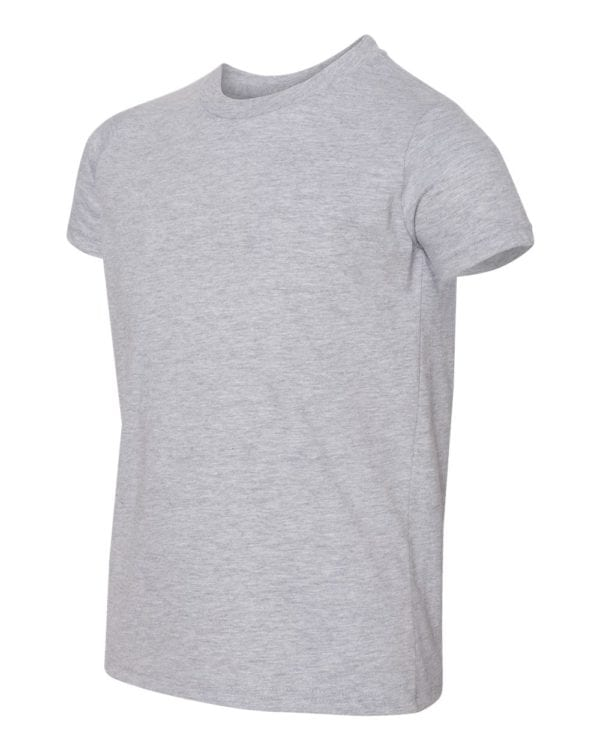 bulk custom shirts american apparel 2201w custom youth t-shirt heather grey