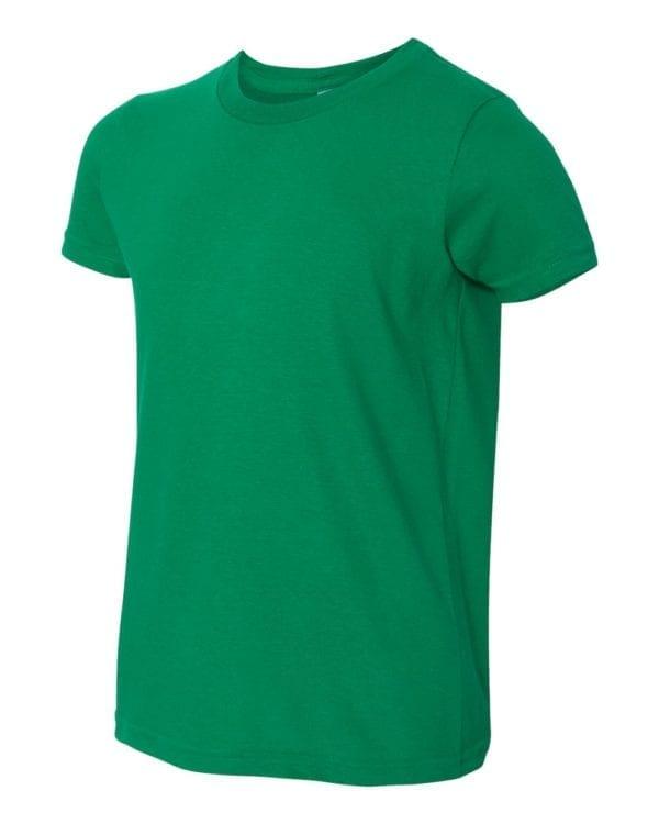 bulk custom shirts american apparel 2201w custom youth t-shirt kelly green