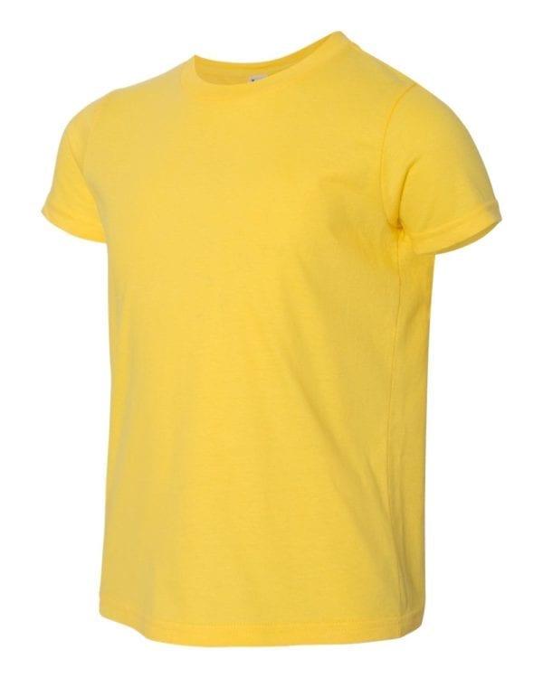 bulk custom shirts american apparel 2201w custom youth t-shirt lemon