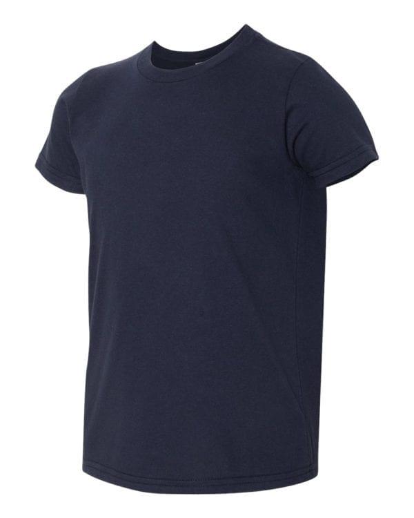 bulk custom shirts american apparel 2201w custom youth t-shirt navy