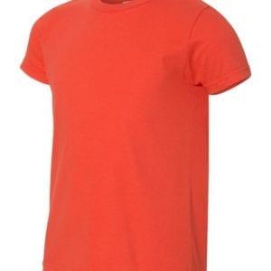 bulk custom shirts american apparel 2201w custom youth t-shirt orange