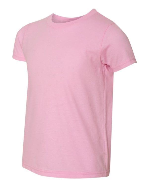 bulk custom shirts american apparel 2201w custom youth t-shirt pink
